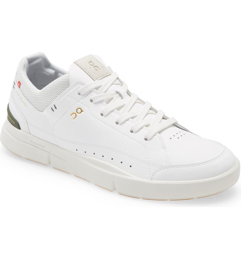 ON THE ROGER Centre Court Tennis Sneaker, Main, color, WHITE/ GREEN