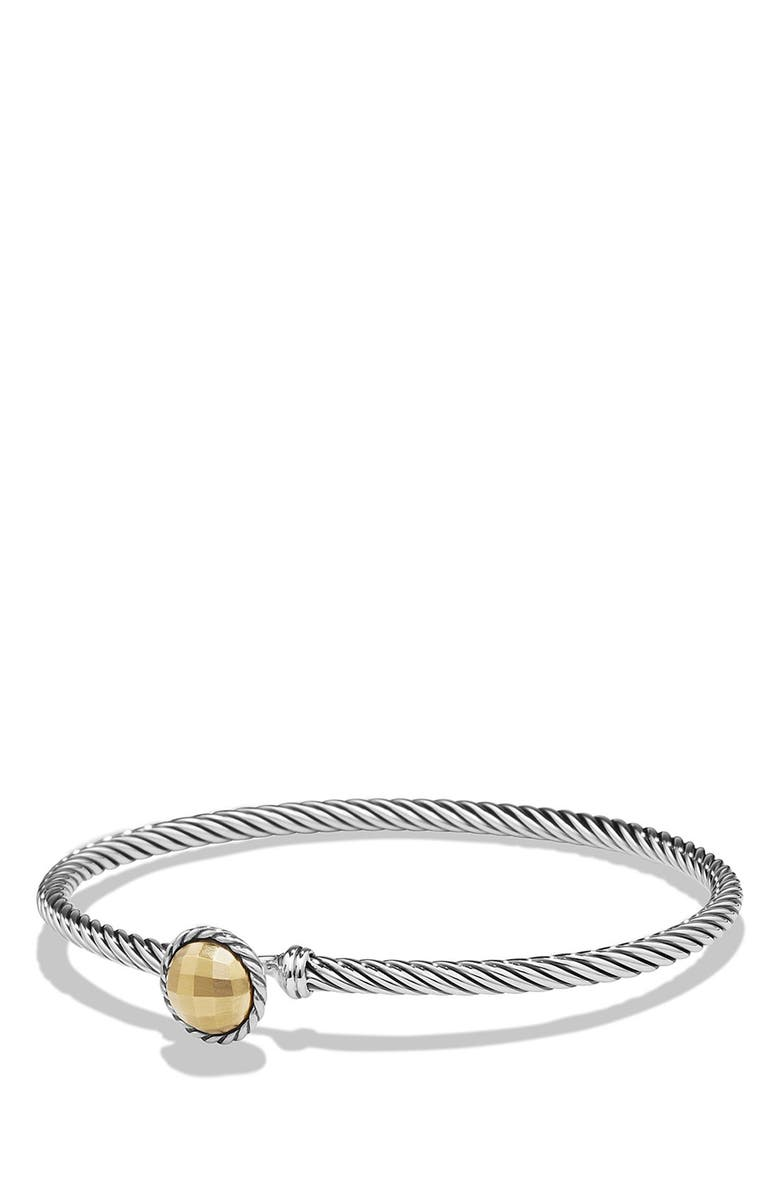 DAVID YURMAN ChâtelaineBracelet with Gold Dome and 18KGold, Main, color, GOLD DOME