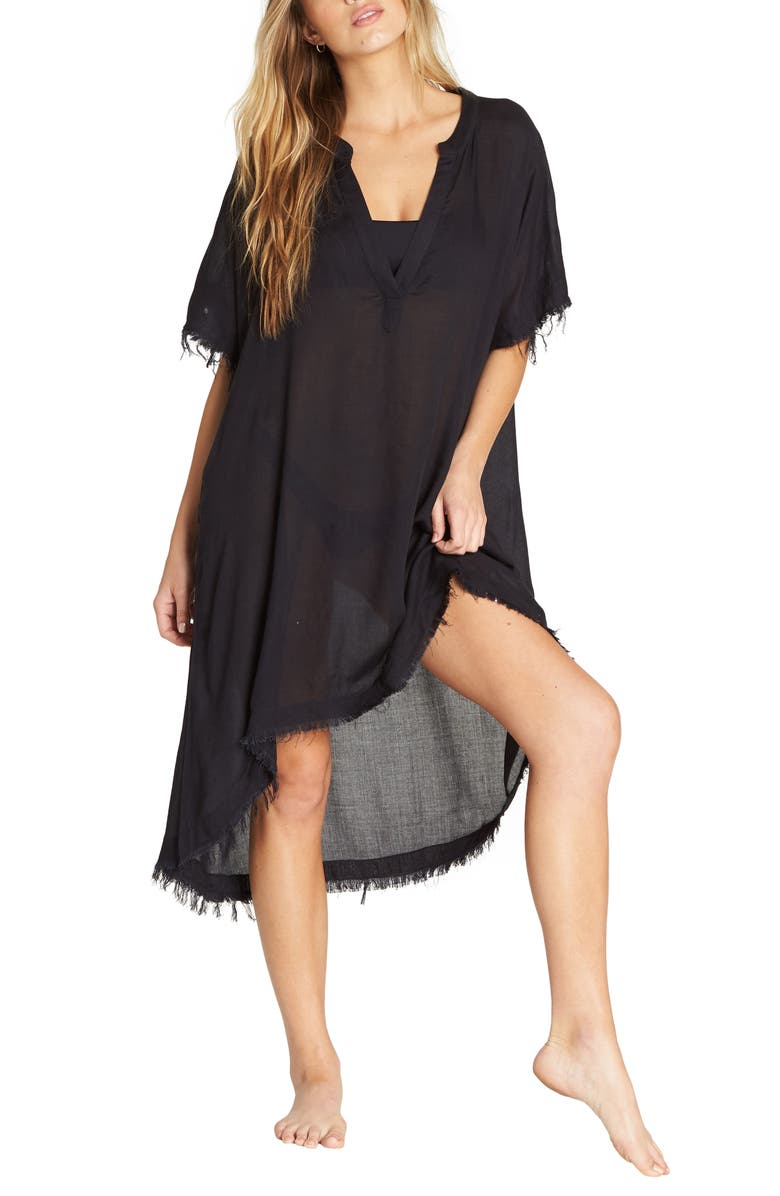 BILLABONG Found Love Cover-Up Dress, Main, color, 012