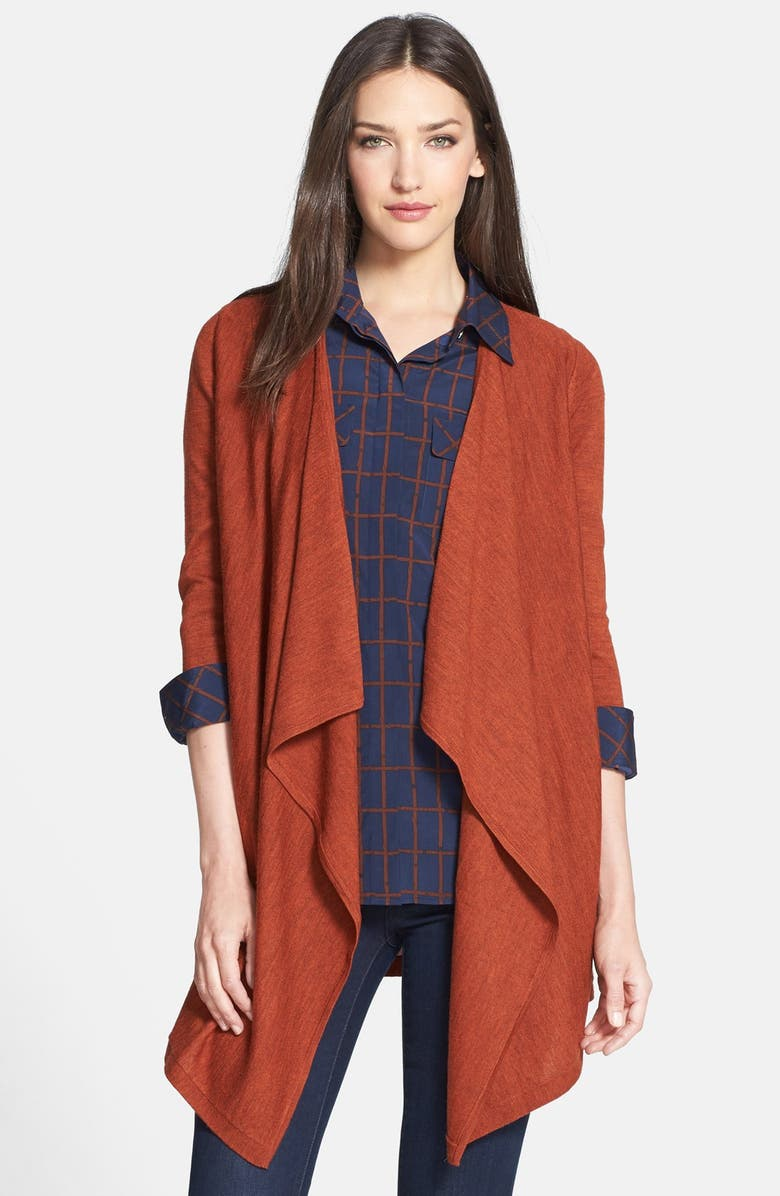 TORY BURCH 'Vreni' Merino Wool Cardigan, Main, color, 218