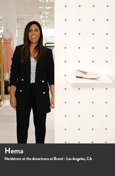 Emelie Square Toe Loafer, sales video thumbnail