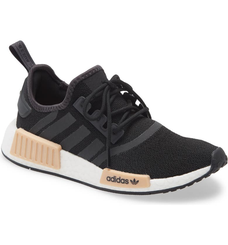 ADIDAS NMD R1 Sneaker, Main, color, CORE BLACK/ CARBON/ WHITE