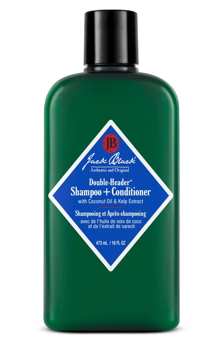 JACK BLACK Double-Header<sup>™</sup> Shampoo + Conditioner, Main, color, NO COLOR