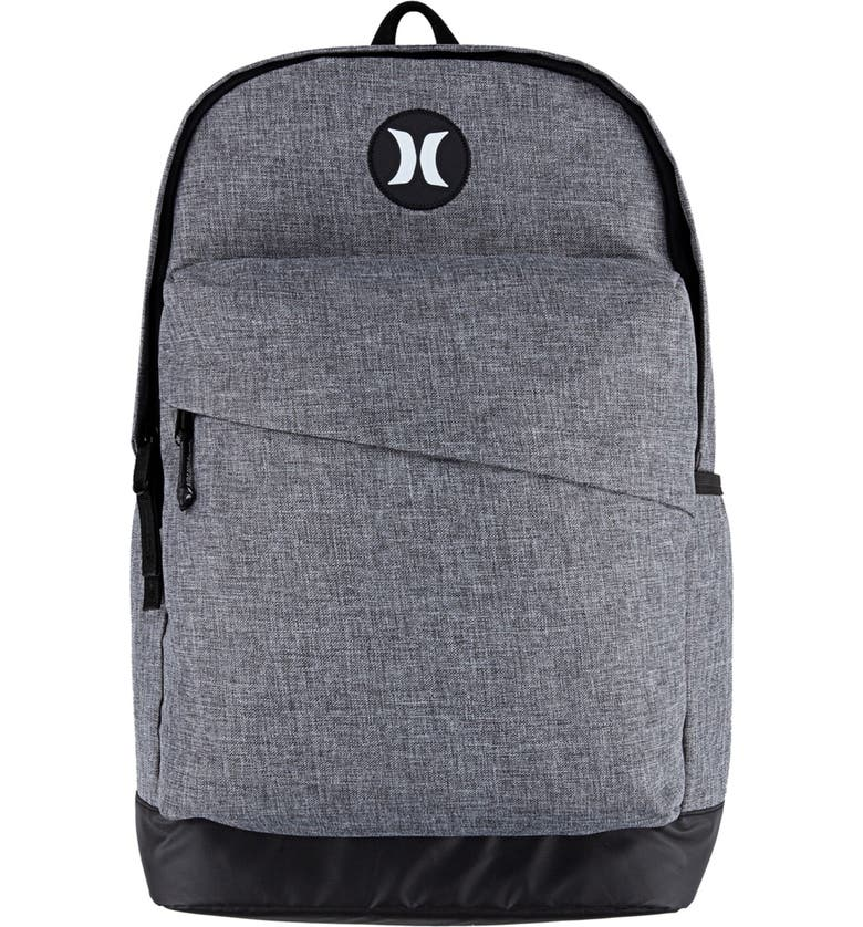 HURLEY Groundswell Backpack, Main, color, DK GREY HEATHER
