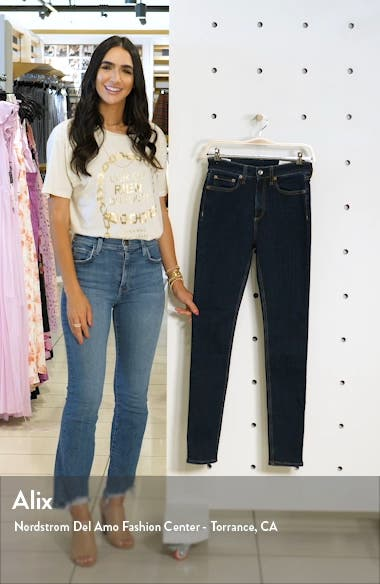 Nina High Waist Skinny Jeans, sales video thumbnail