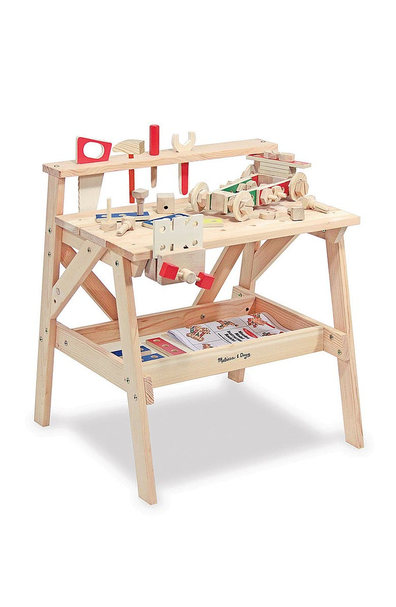 MELISSA AND DOUG Wooden Project Workbench, Main, color, 000