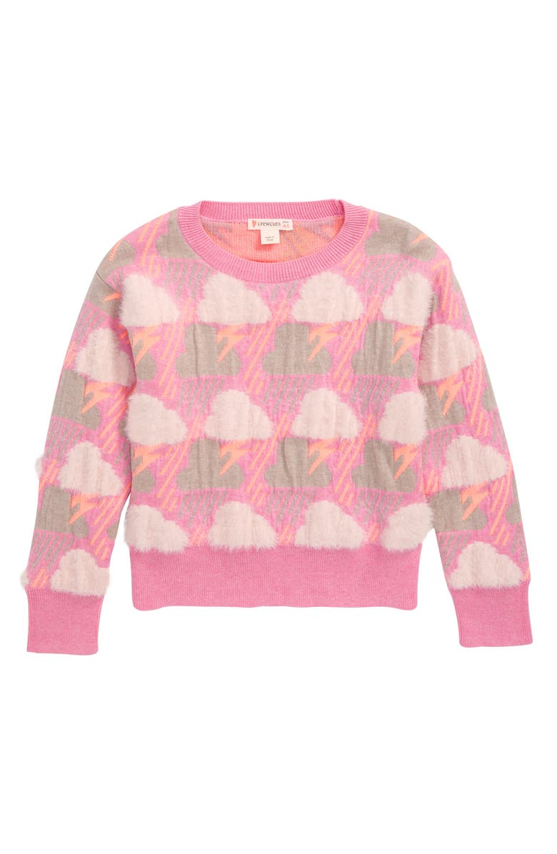 CREWCUTS BY J.CREW Alana Storms Sweater, Main, color, 650