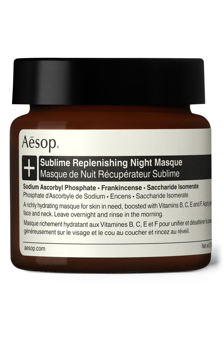 AESOP Sublime Replenishing Night Masque, Main, color, No Color