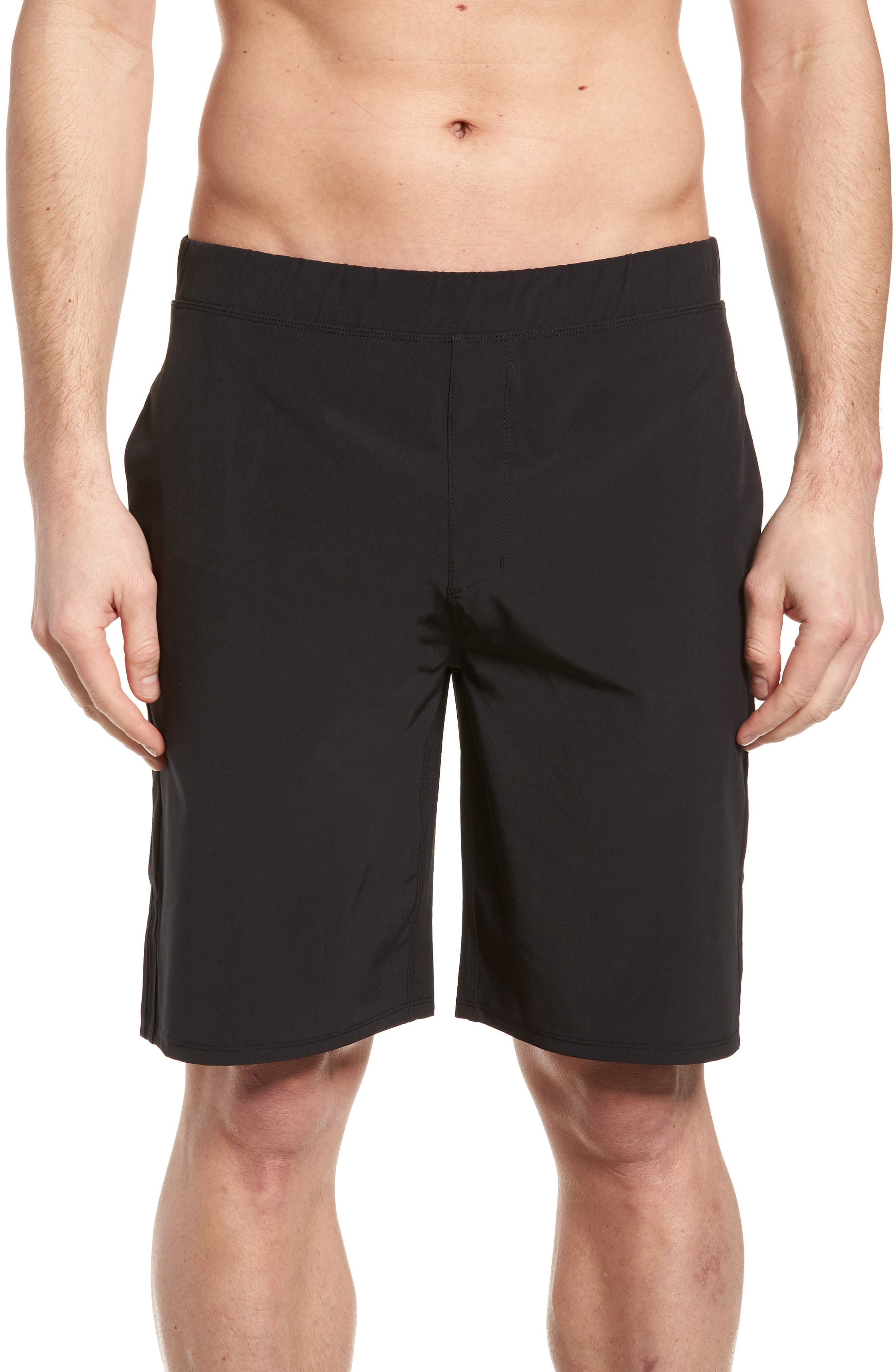 Hurley Alpha Trainer 2.0 18.5 Inch Shorts in Obsidian