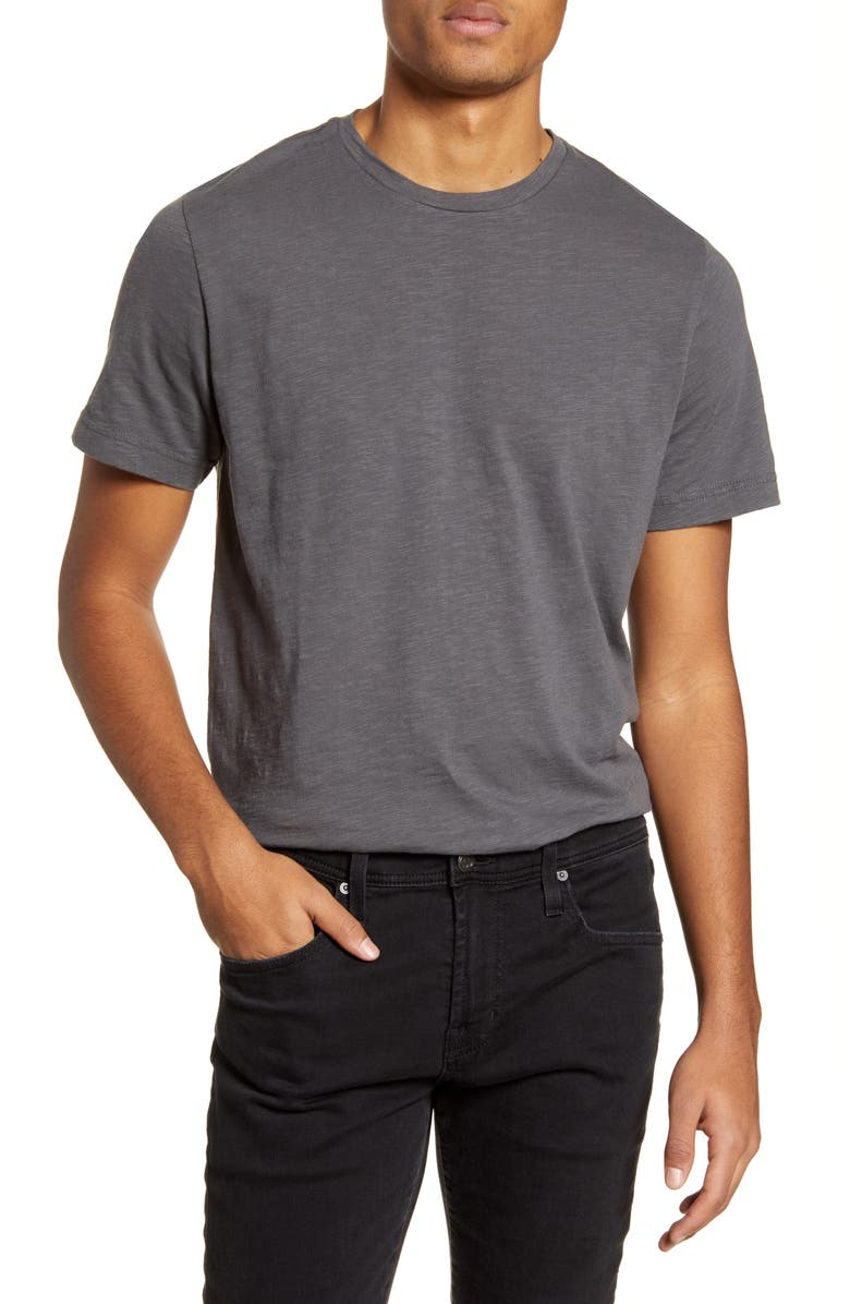 1901 Solid Slub T-Shirt, Main, color, GREY MAGNET