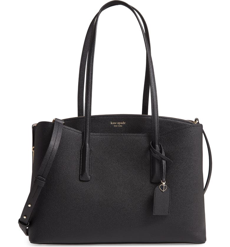 KATE SPADE NEW YORK large margaux tote, Main, color, 001