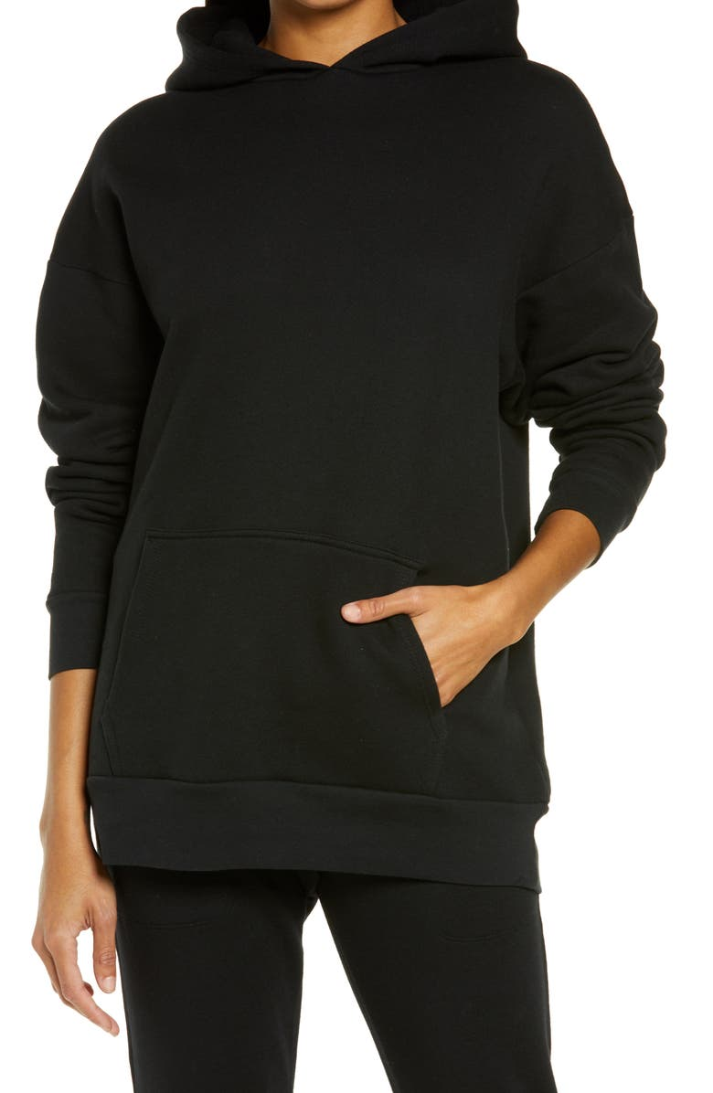 BEYOND YOGA Go Getter Hoodie, Main, color, BLACK