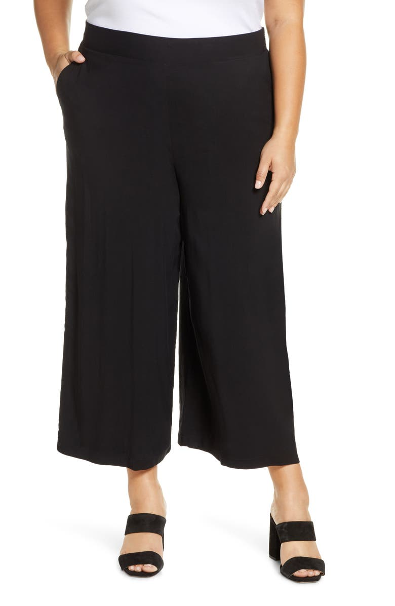 GIBSONLOOK Gibson x International Women's Day The Mom In Style Crop Wide Leg Pants, Main, color, 001