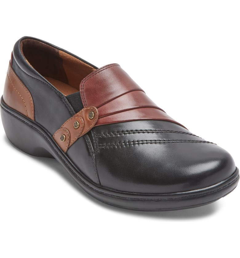 ARAVON 'Danielle' Loafer Flat, Main, color, MULTI LEATHER