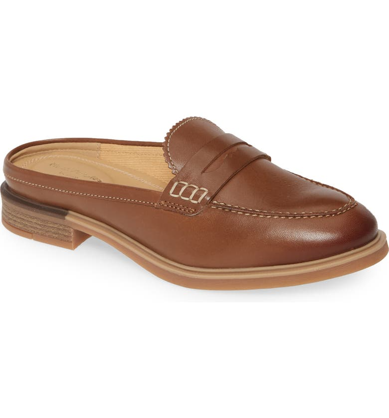HUSH PUPPIES<SUP>®</SUP> Bailey Penny Mule, Main, color, DACHSHUND LEATHER