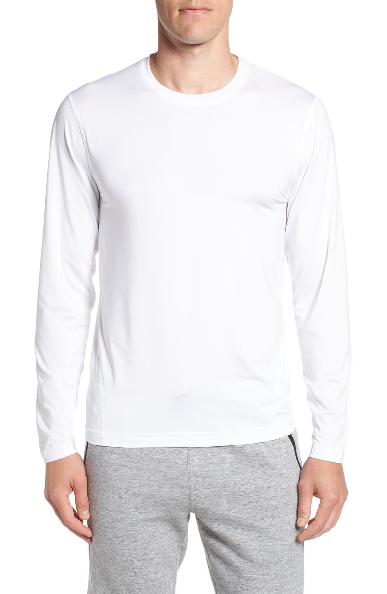 CUTTER & BUCK Enforce Base Layer T-Shirt, Main, color, WHITE