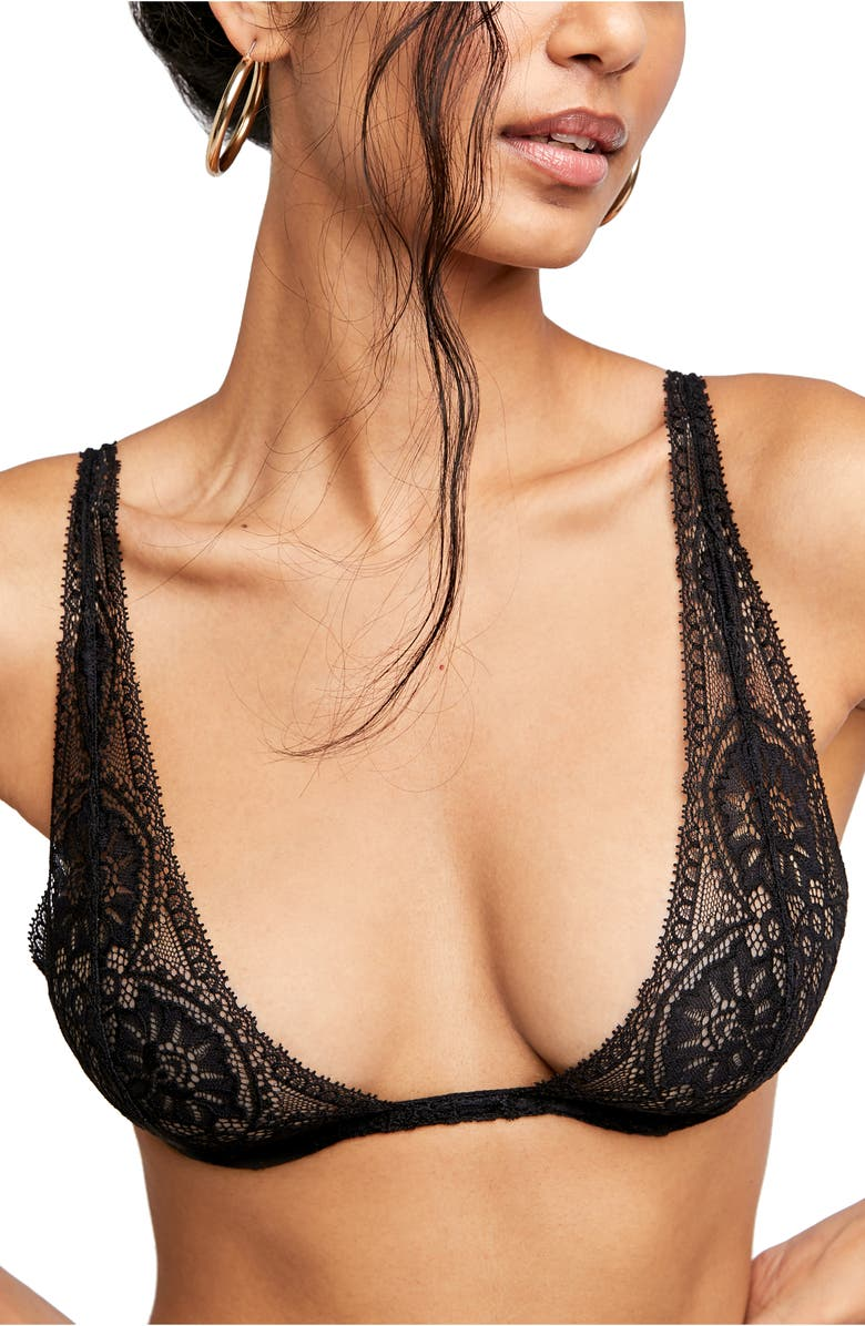 FREE PEOPLE Intimately FP Hyper Underwire Bra, Main, color, BLACK