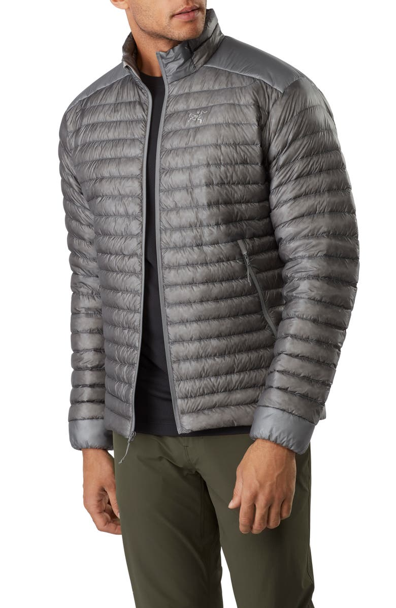 ARC'TERYX Cerium Quilted 850-Fill-Power Down Jacket, Main, color, PEGASUS