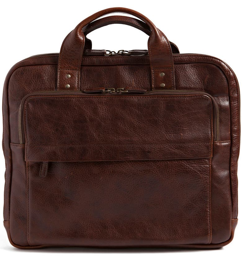 MOORE & GILES Jay Leather Briefcase, Main, color, 206