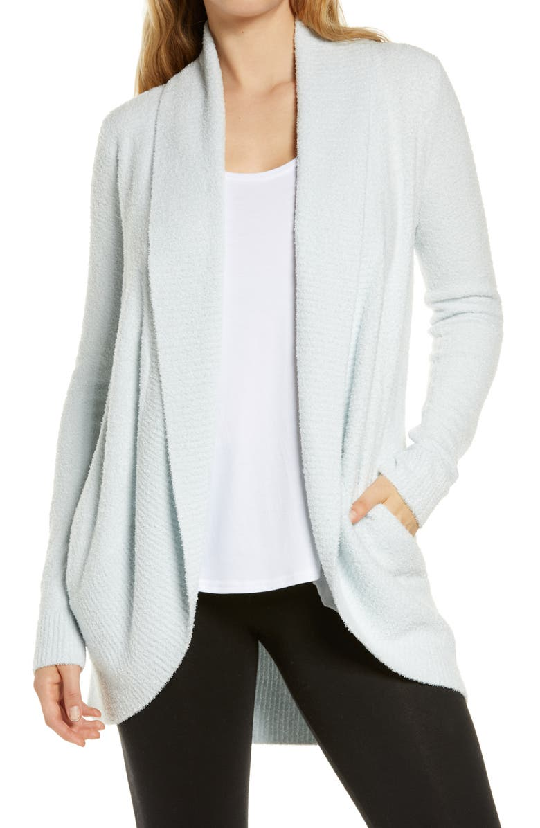 BAREFOOT DREAMS<SUP>®</SUP> CozyChic Lite<sup>®</sup> Circle Cardigan, Main, color, 400
