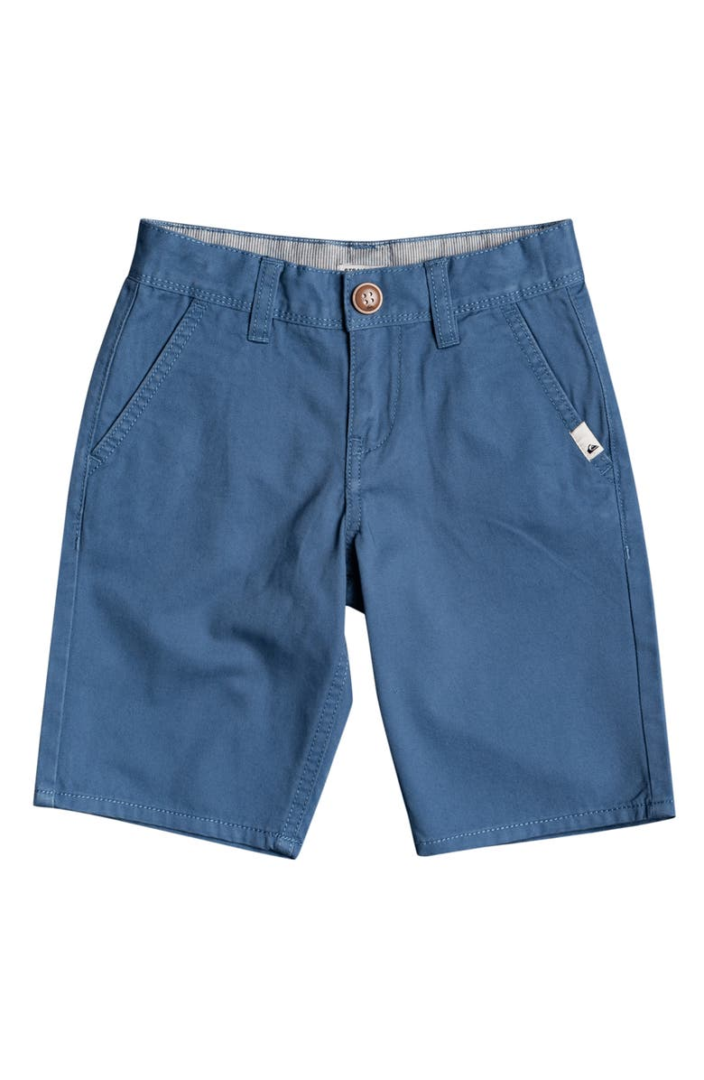 QUIKSILVER Kids' Everyday Chino Light Shorts, Main, color, CAPTAINS BLUE