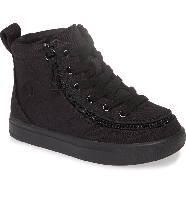 BILLY FOOTWEAR Classic High Top Sneaker, Main, color, BLACK TO THE FLOOR