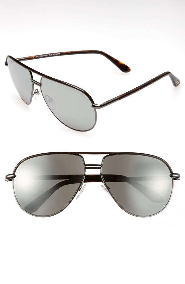 TOM FORD Cole 61mm Sunglasses, Main, color, 020