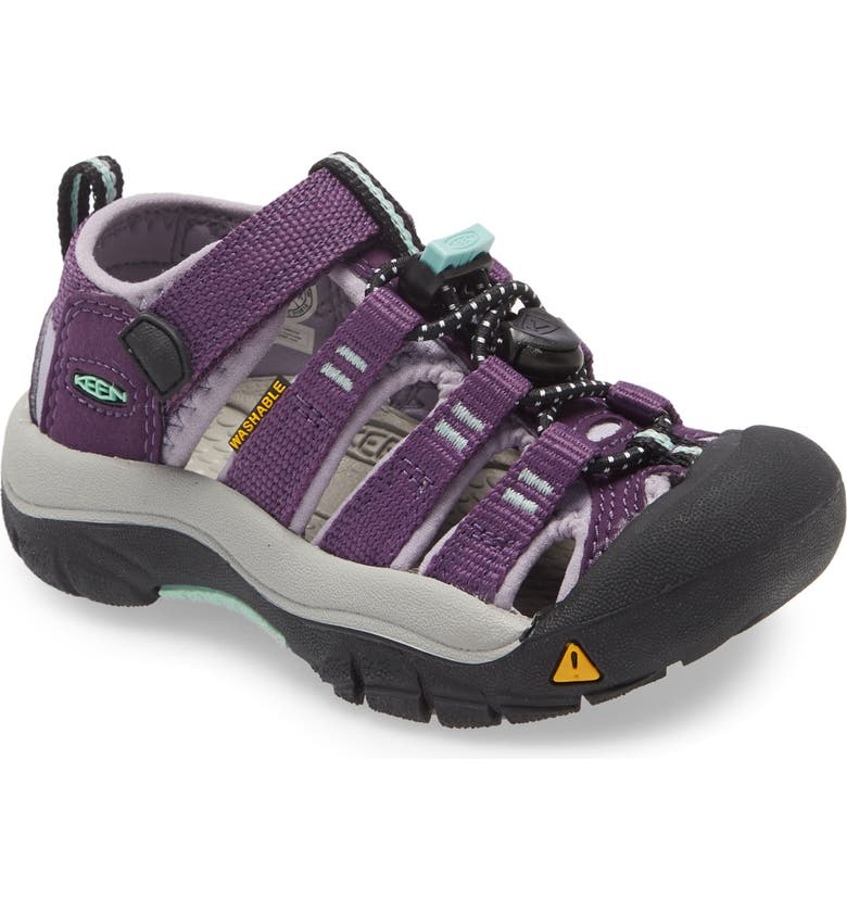KEEN Newport H2 Water Friendly Sandal, Main, color, PURPLE PENNANT/ LAVENDER GRAY
