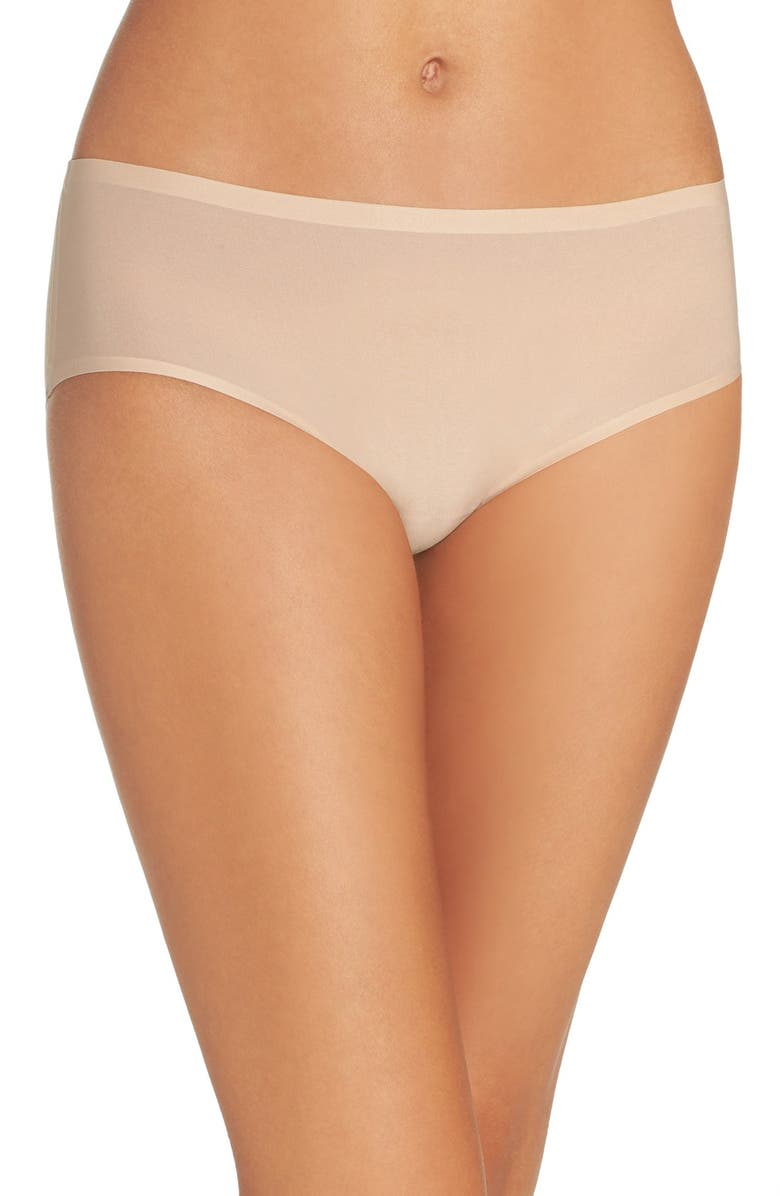 CHANTELLE LINGERIE Soft Stretch Seamless Hipster Panties, Main, color, ULTRA NUDE