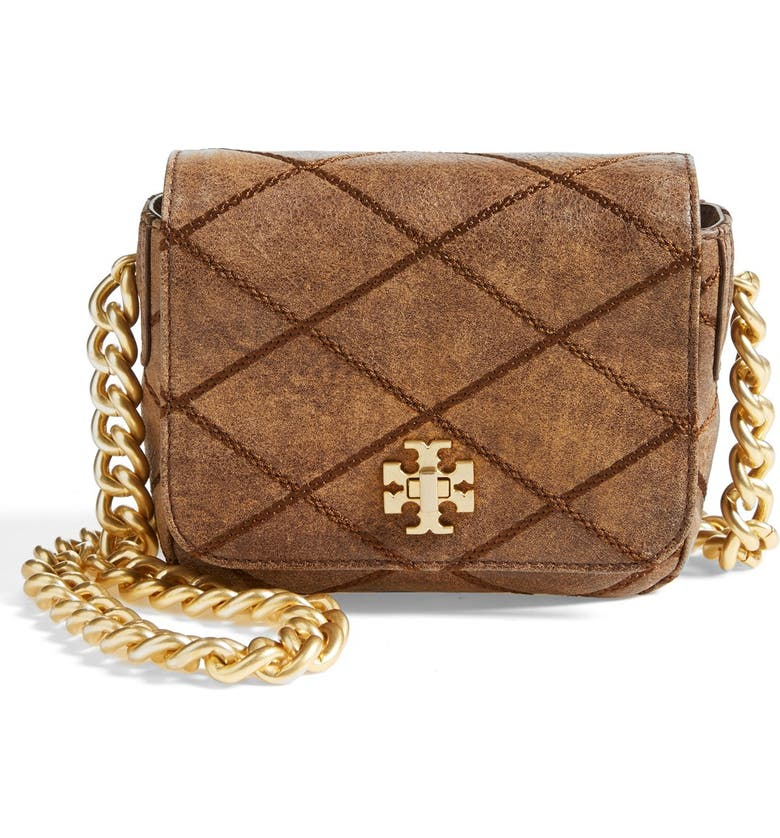 TORY BURCH 'Mini Lysa' Crossbody Bag, Main, color, 212
