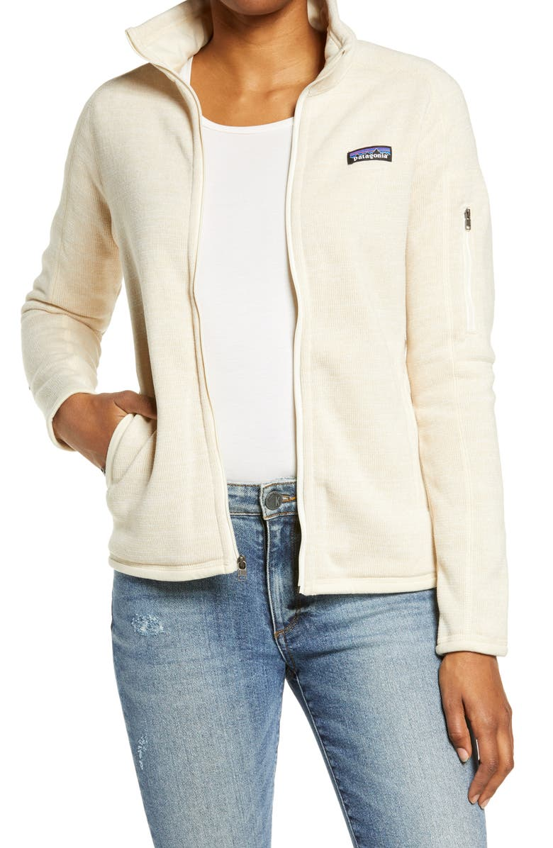 PATAGONIA Better Sweater<sup>®</sup> Jacket, Main, color, OYSTER WHITE