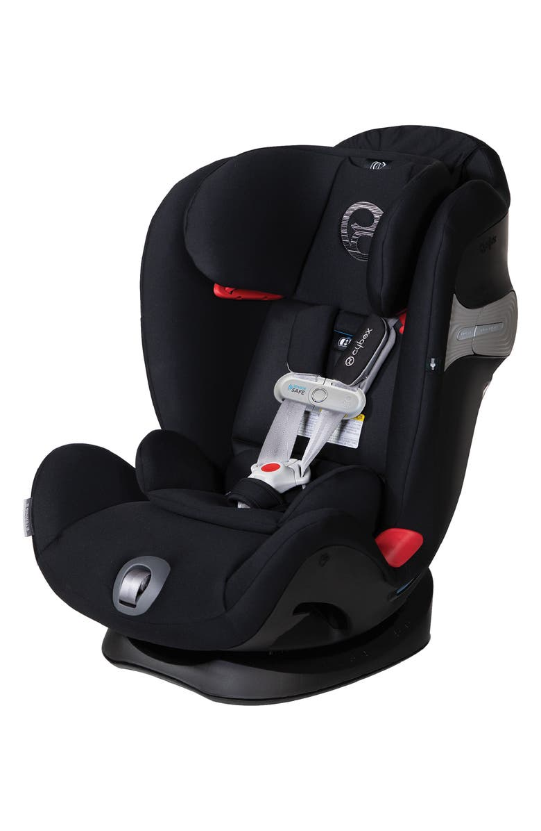 CYBEX Eternis S SensorSafe<sup>™</sup> All-in-One Car Seat, Main, color, BLACK