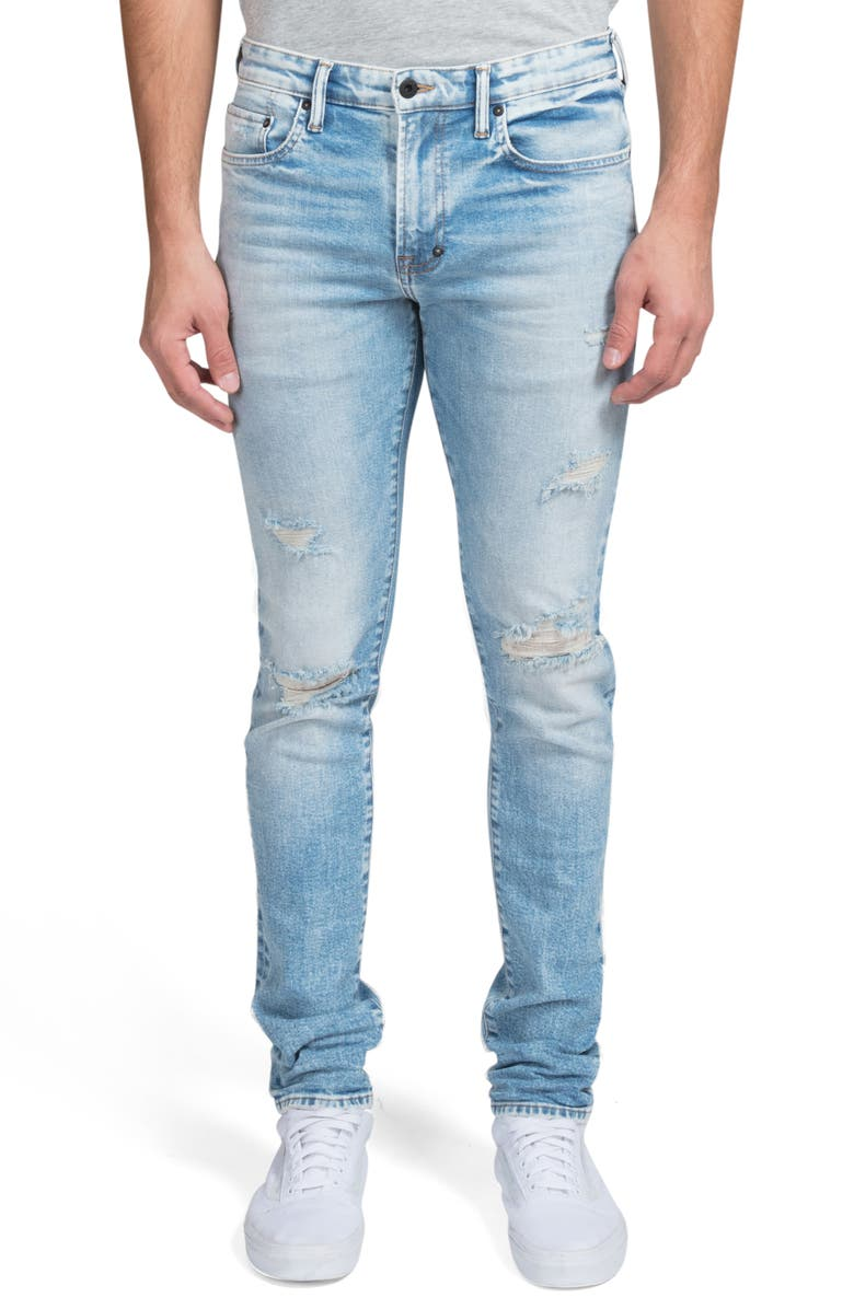 PRPS Windsor Ripped Extra Slim Fit Jeans, Main, color, NEOSHO
