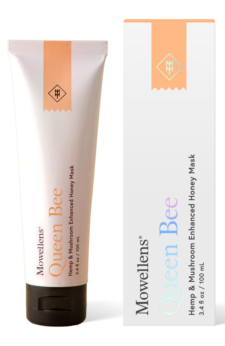 MOWELLENS Queen Bee Hemp & Mushroom Enhanced Mask, Main, color, No Color