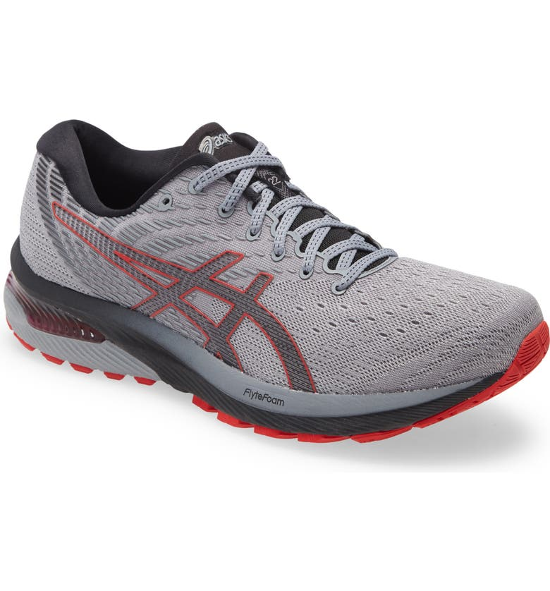 ASICS<SUP>®</SUP> GEL-Cumulus 22 Running Shoe, Main, color, PIEDMONT GREY/ BLACK