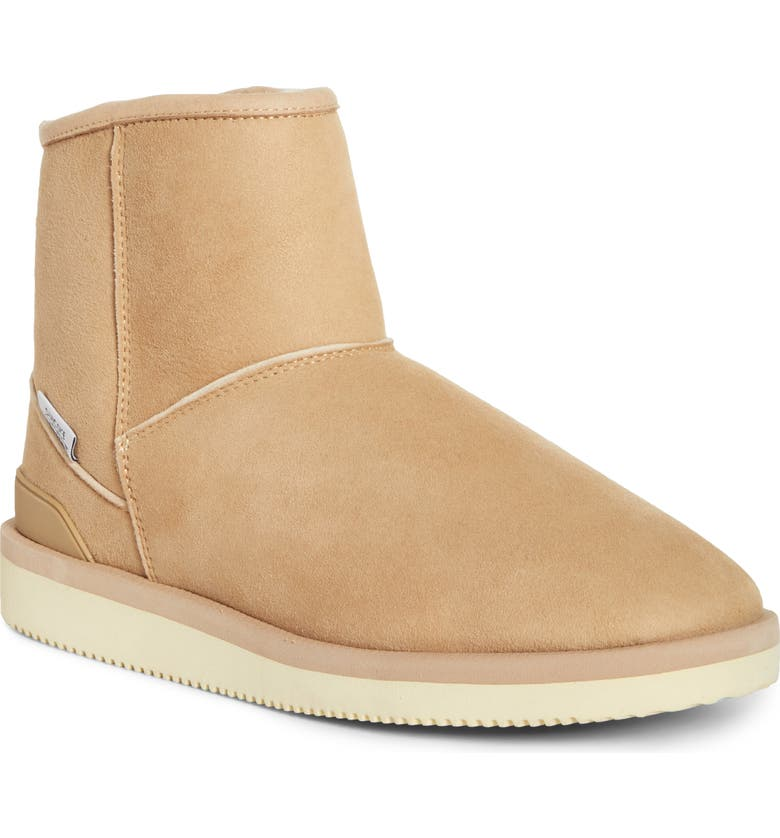 SUICOKE Els-M2ab Genuine Shearling Bootie, Main, color, 250