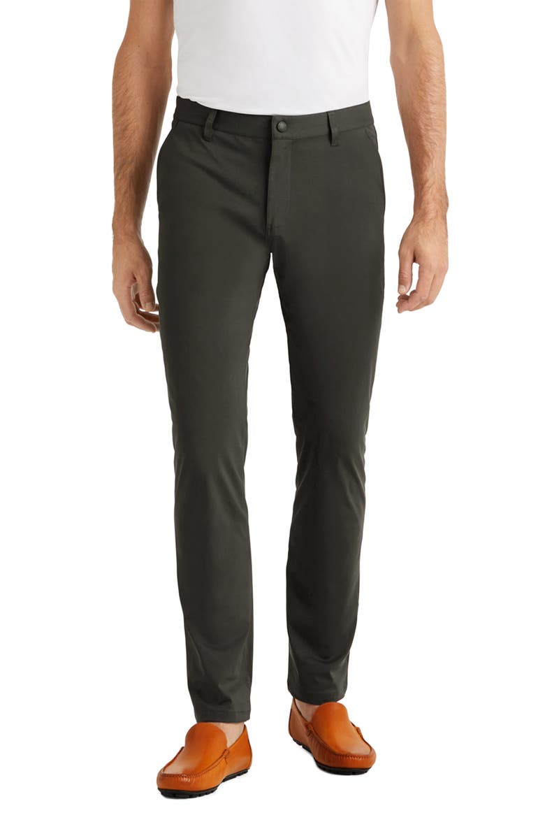 RHONE Commuter Straight Fit Pants, Main, color, ROSIN