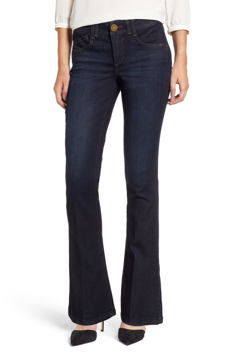 WIT & WISDOM Ab-Solution Itty Bitty Bootcut Jeans, Main, color, INDIGO