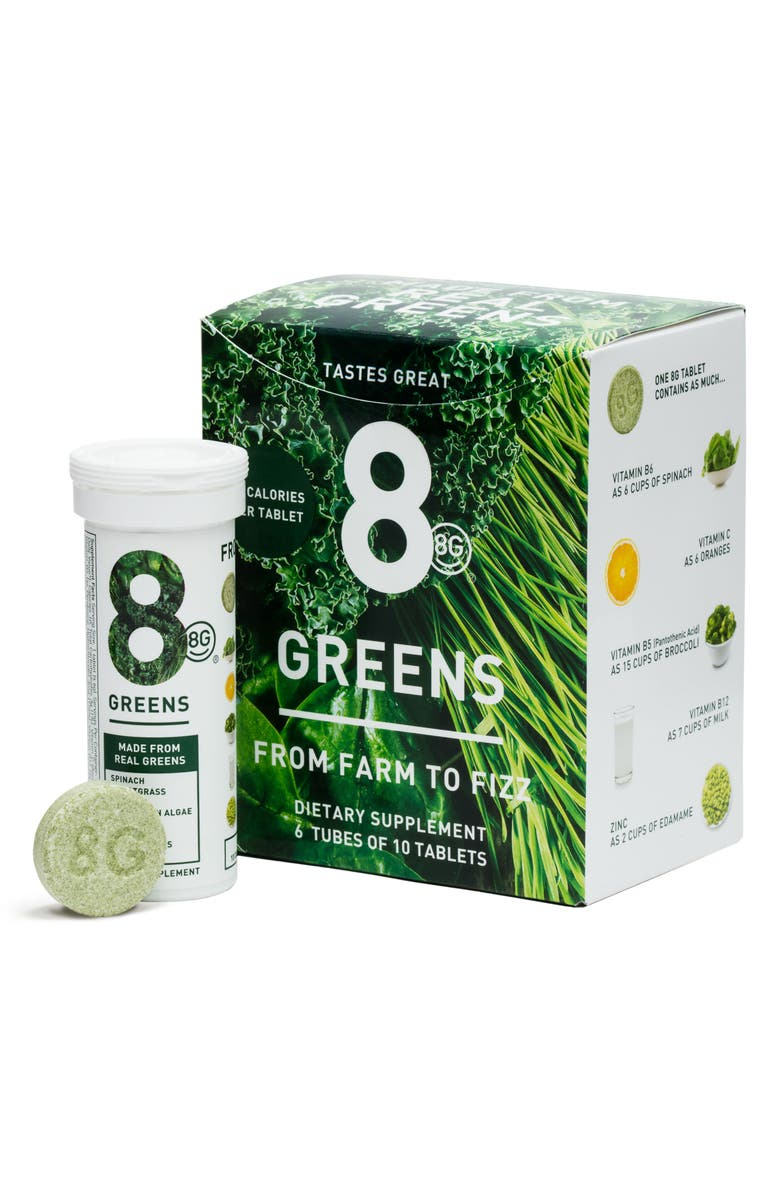 8GREENS 8G Greens 6-Pack Dietary Supplement, Main, color, NO COLOR