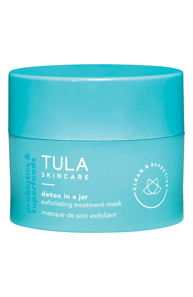 TULA SKINCARE Detox In A Jar Exfoliating Treatment Mask, Main, color, No Color