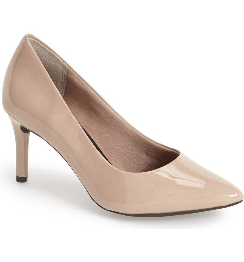 ROCKPORT 'Total Motion' Pump, Main, color, WARM TAUPE PATENTDNU