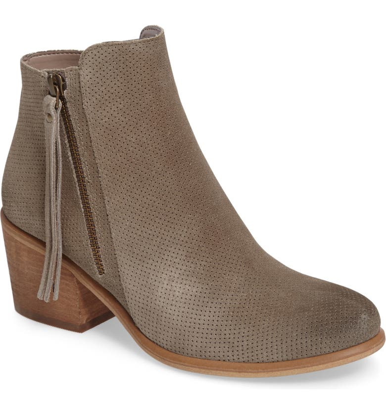 HINGE Basil Bootie, Main, color, 022
