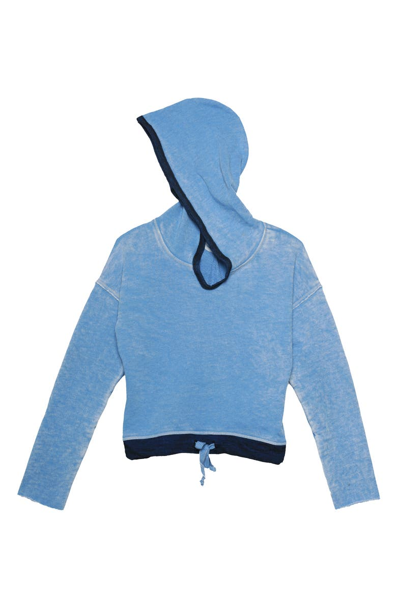 T2 LOVE Hoodie, Main, color, R. BLUE