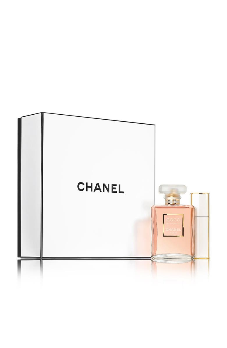 CHANEL COCO MADEMOISELLE <br />Travel Spray Set, Main, color, 000