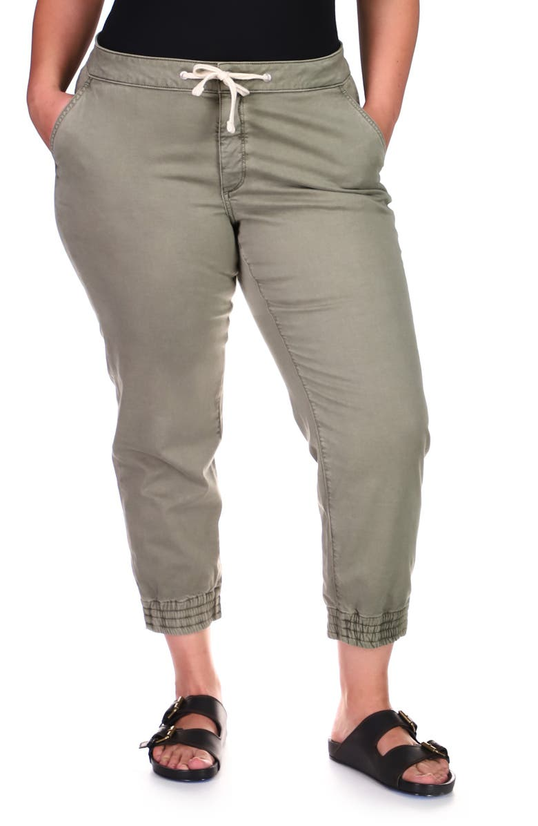 DL 1961 Gwen Cropped Joggers, Main, color, CYPRESS