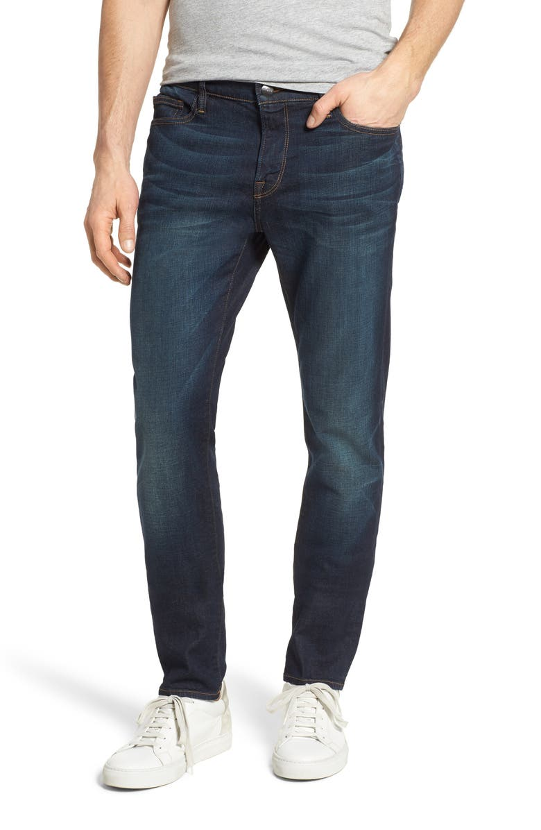 FRAME L'Homme Skinny Fit Jeans, Main, color, SIERRA