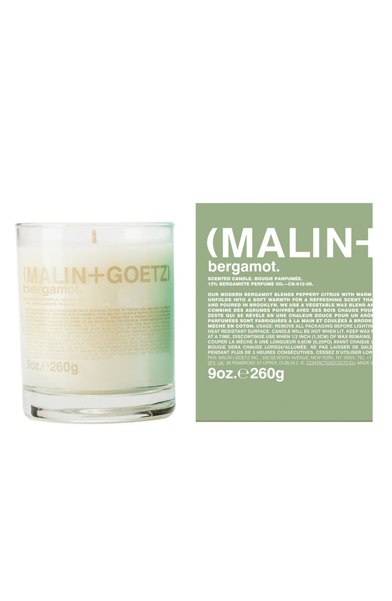 MALIN+GOETZ Candle, Main, color, BERGAMOT