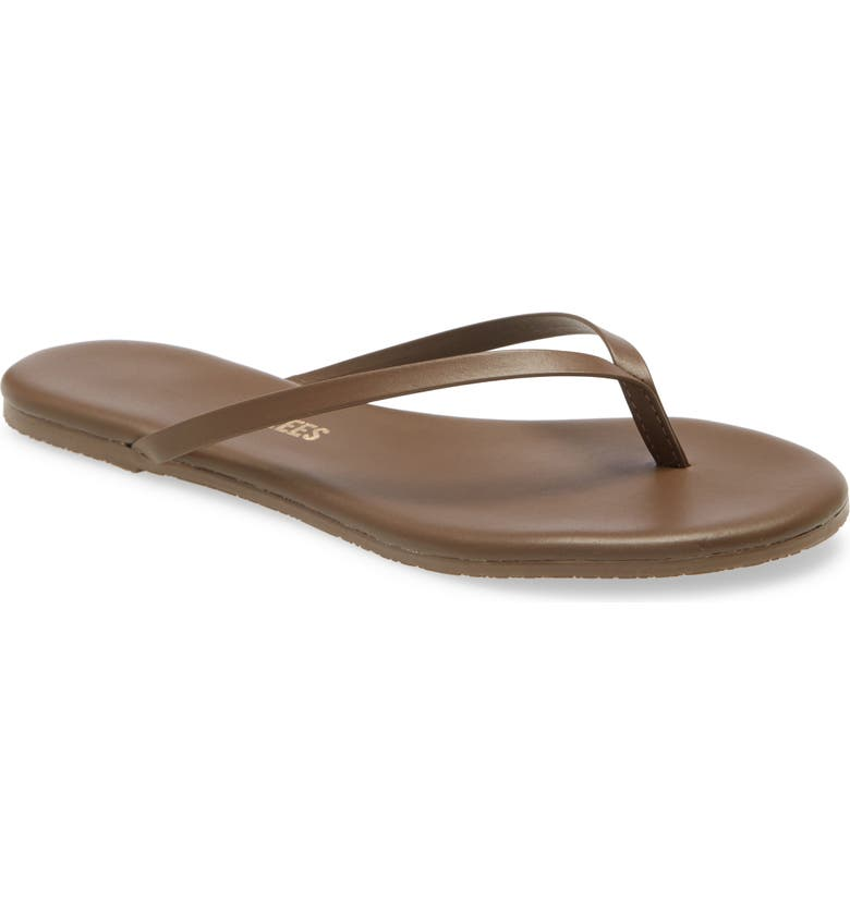 TKEES 'Liners' Flip Flop, Main, color, COFFEE