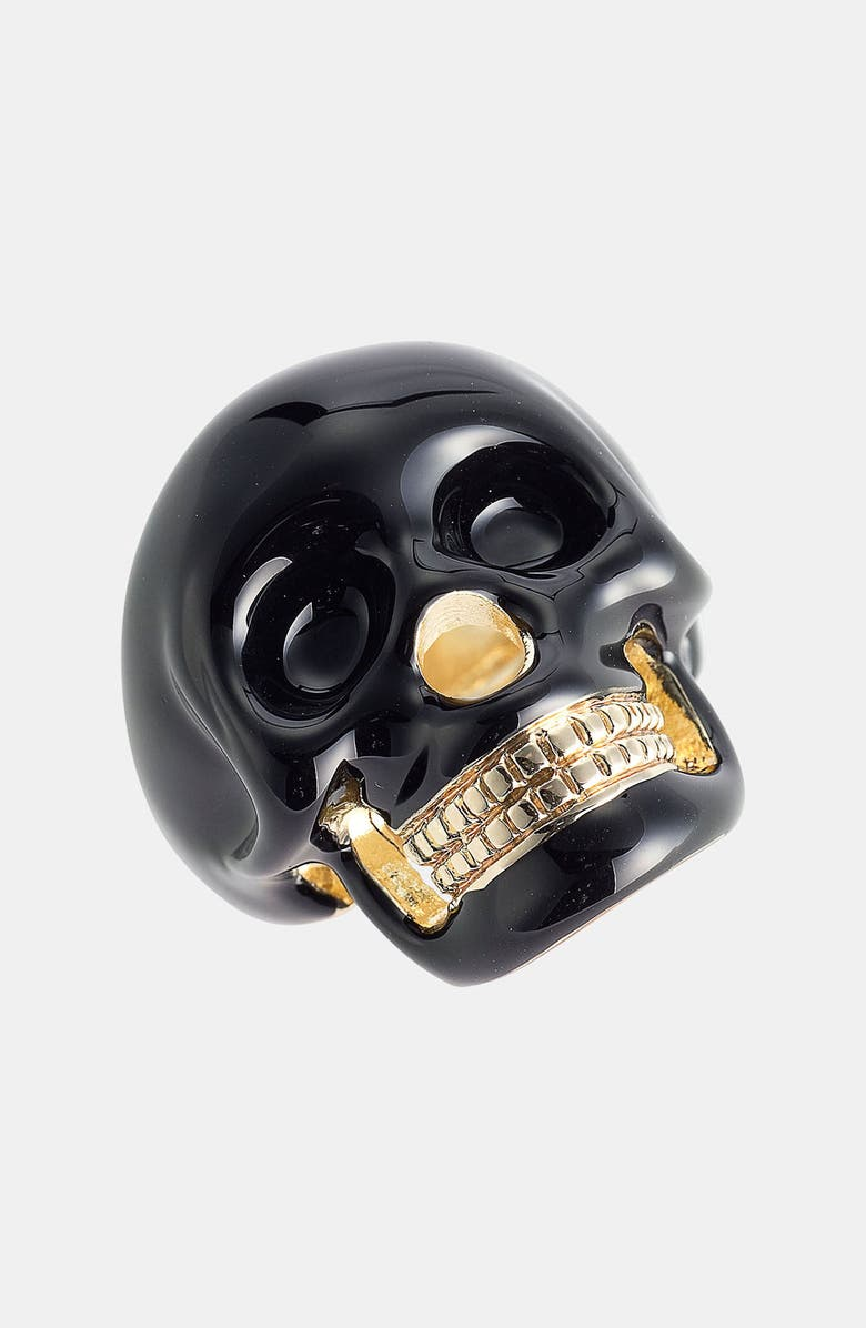 SPRING STREET Skull Ring, Main, color, 001