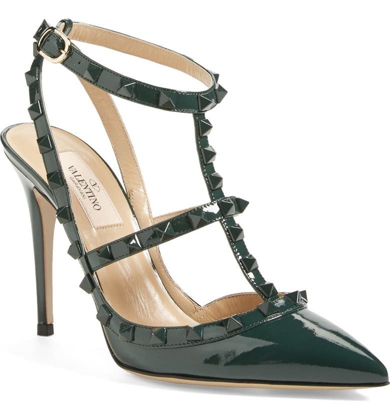 VALENTINO 'Punkouture' T-Strap Pump, Main, color, 300